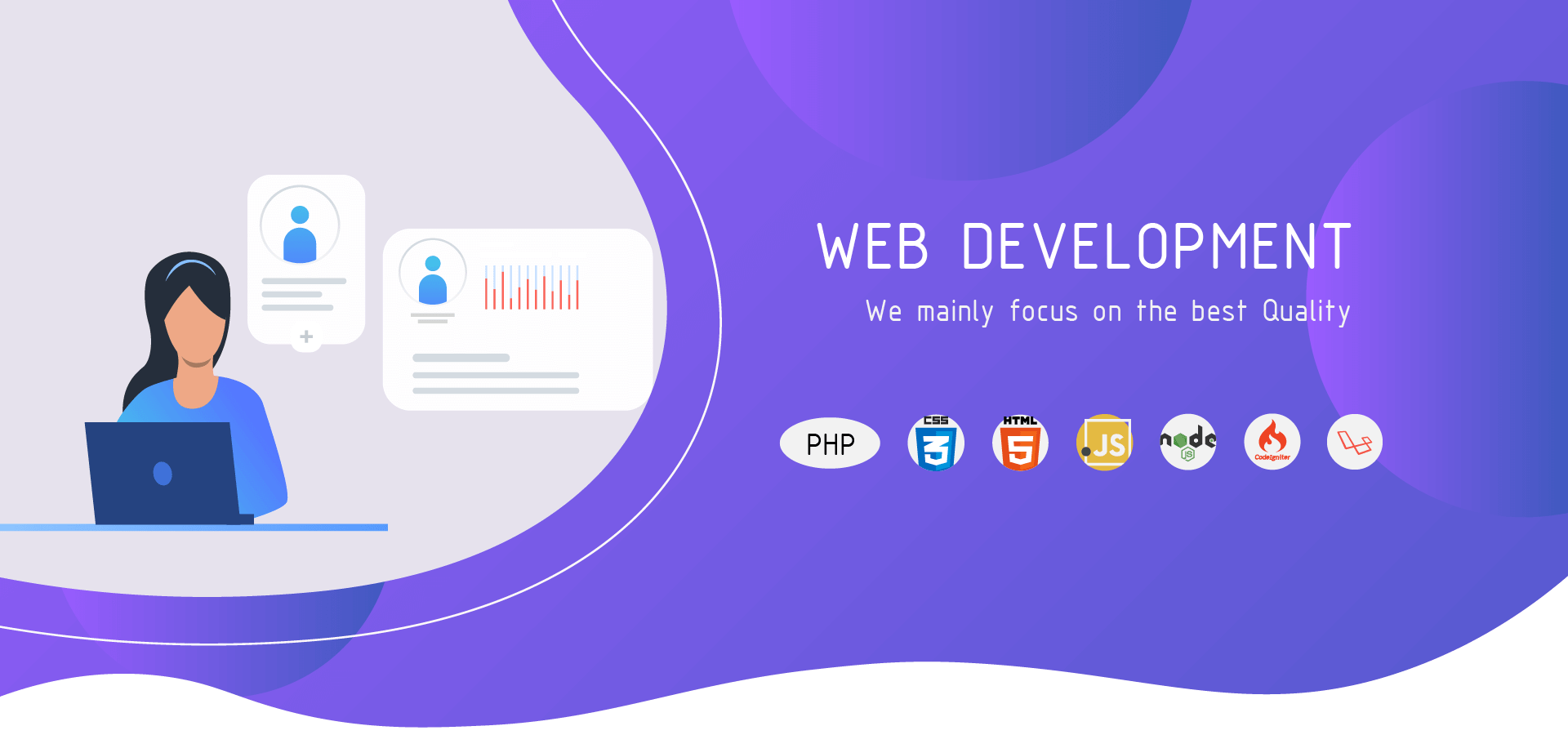 Web Development Slider